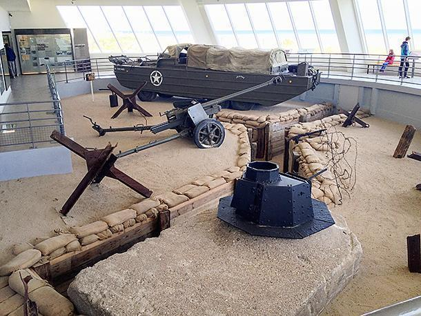 The Utah Beach Museum was an impressive surprise