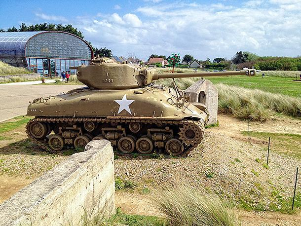 The Utah Beach Museum is unassuming from the ouside