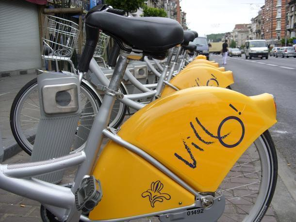 Villo! is Brussels' bike sharing system.