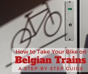 How to take your bike on Belgian trains