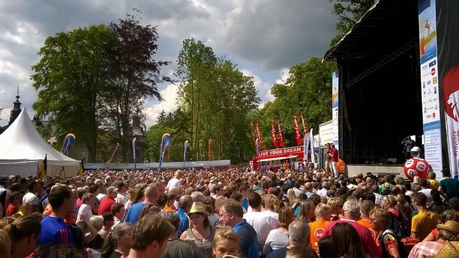 (2015) Le beau vélo de RAVeL feels like a summer festival