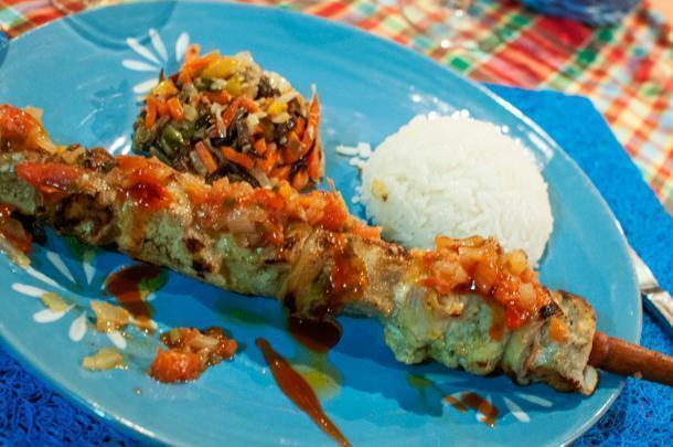 Guyanese cuisine uses the abundance of fresh produce and seafood to its advantage