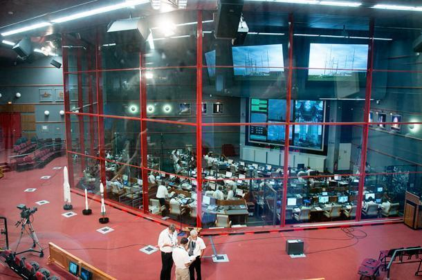 Watching a rocket launch from Salle Jupiter at the Centre Spatial is a special treat