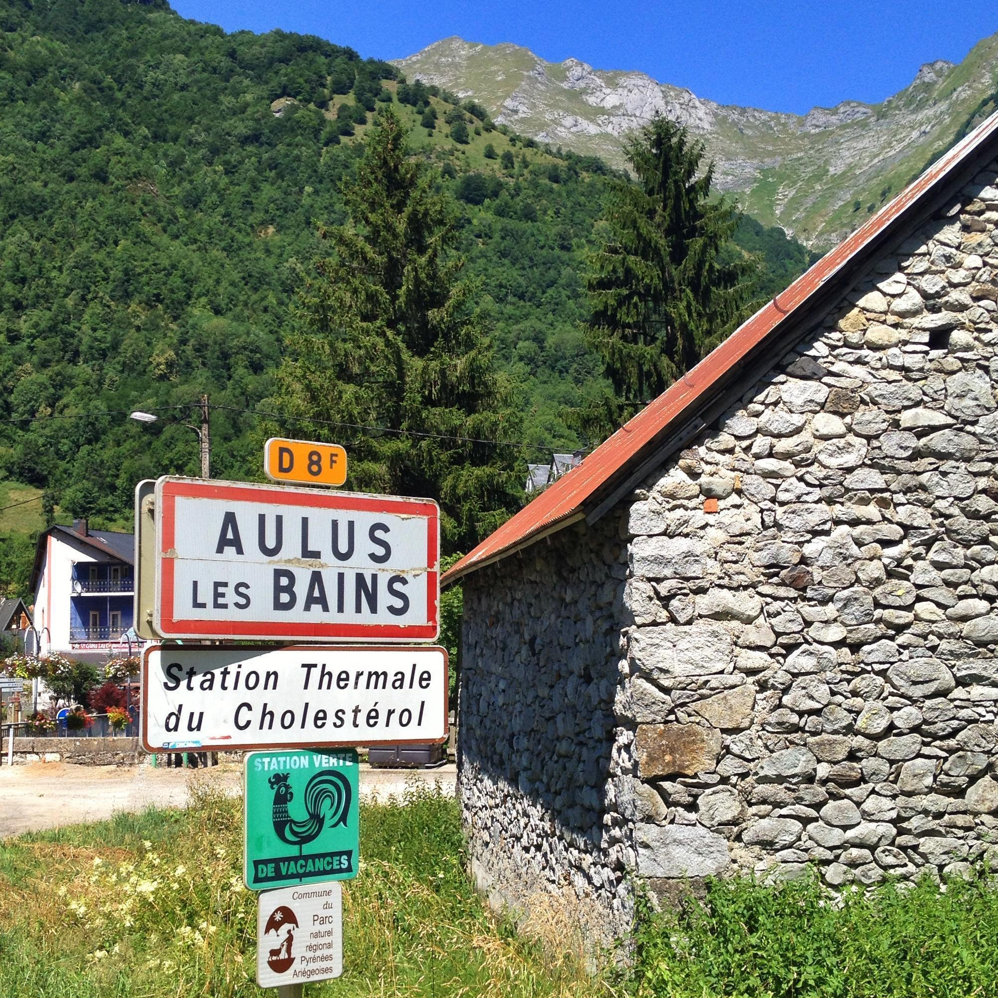 Aulus-les-Bains - Station Thermale du Cholesterol