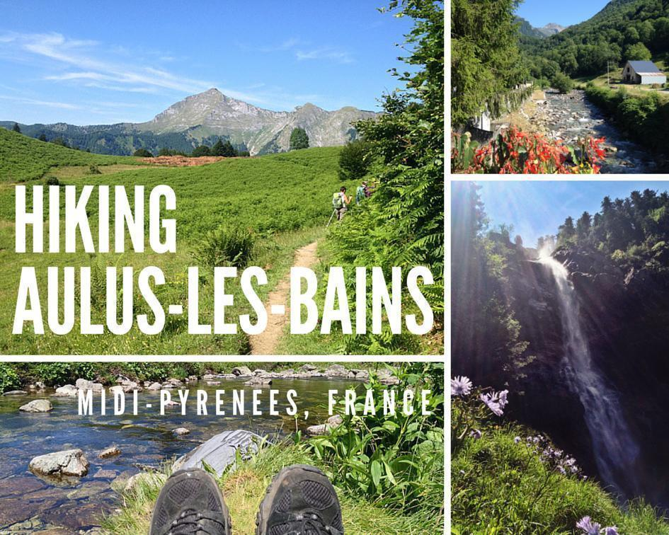 Mountain Hiking in Aulus-les-bains, Midi-Pyrenees, France