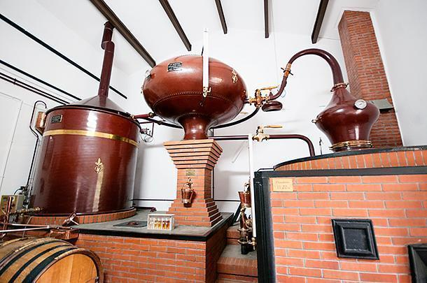 Not much has changed in this distillery over the years