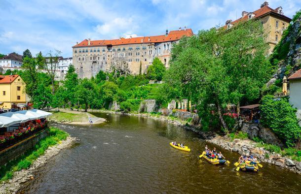 Cesky Krumlov, Czech Republic is a family-friendly destination.