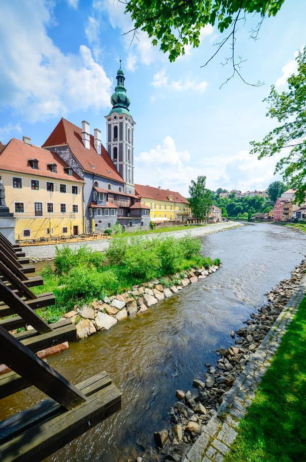 May and October are ideal times to visit Cesky Krumlov