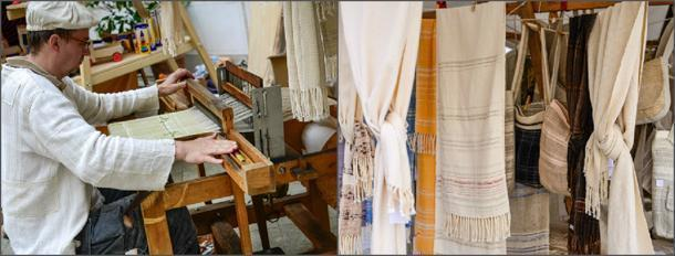 Making and selling linen scarves
