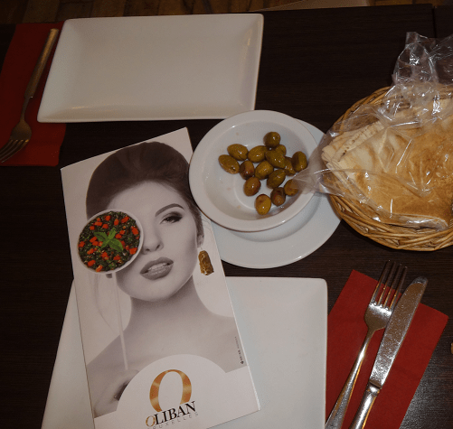 Eat in or Take-Away at O Liban Lebanese restaurant in Brussels