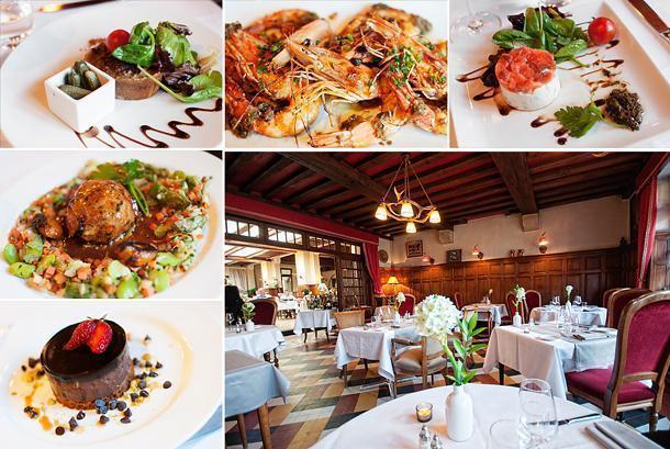 Restaurant des Trois Merchands is a star in Cheverny