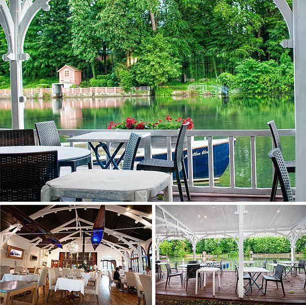 Le Pavillion Bleu has a lovely atmosphere, beside the Loiret River