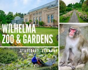 wilhelma zoo and botanical gardens in Stuttgart, Germany