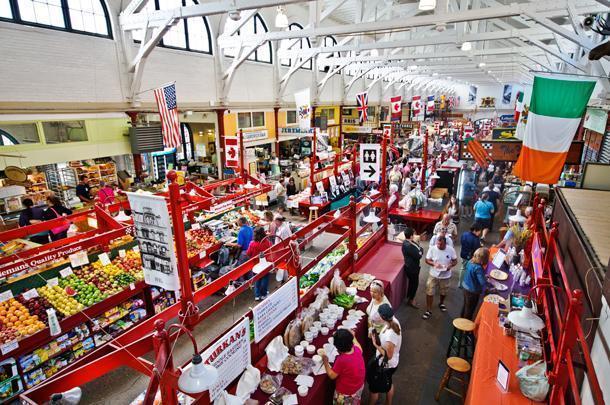 Uptown Saint John's City Market, Canada's oldest farmer's market