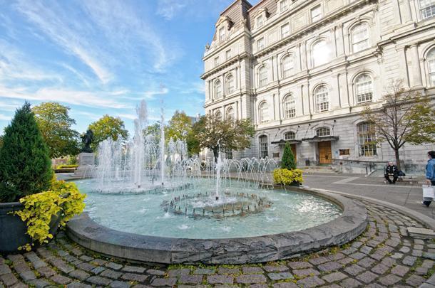Montreal's European charm