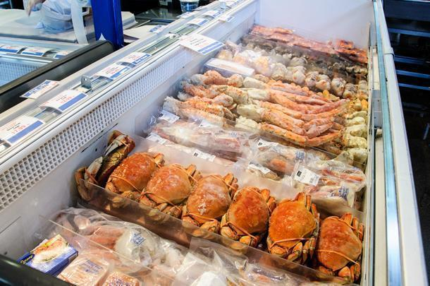 Canadian seafood at Toronto's Market