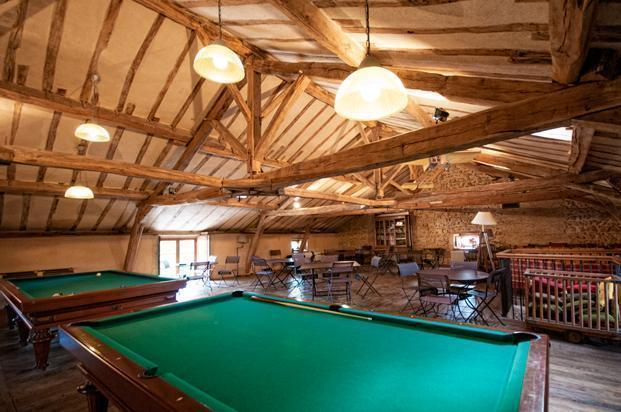 Even the multi-function room in the attic is sustainable.