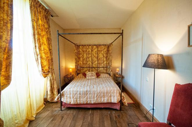 Beautiful, yet eco-friendly, our room in Les Orangeries