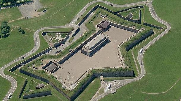 Citadel Hill in Halifax, Nova Scotia