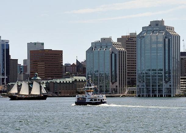 The Halifax Waterfront is a great place to spend a summer day