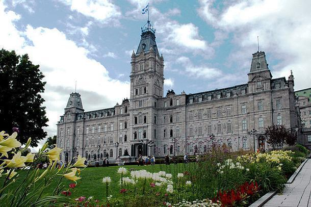 The Parliament Building of Quebec, seat of the Quebec National Assembly