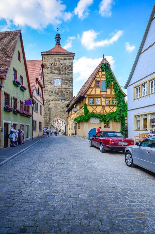 Rothenburg's historic town centre