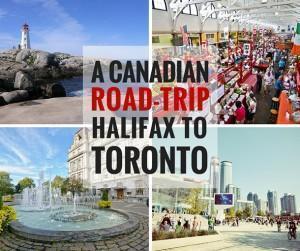 A Road-trip from Halifax to Toronto, Canada