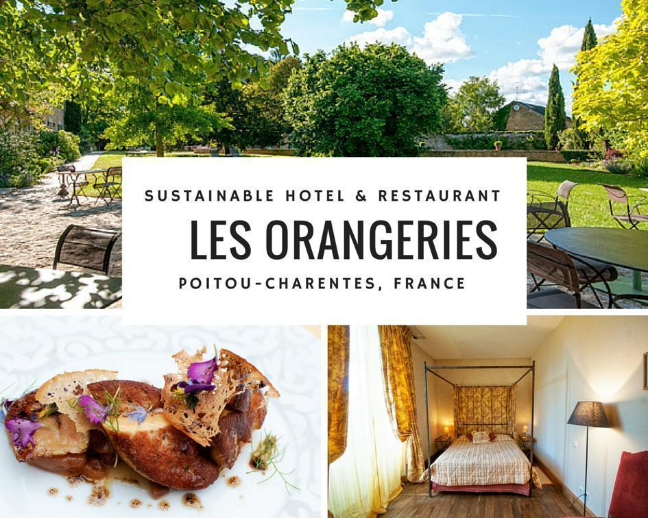 Eco Hotel and Restaurant Les Orangeries in Poitou-Charentes, France