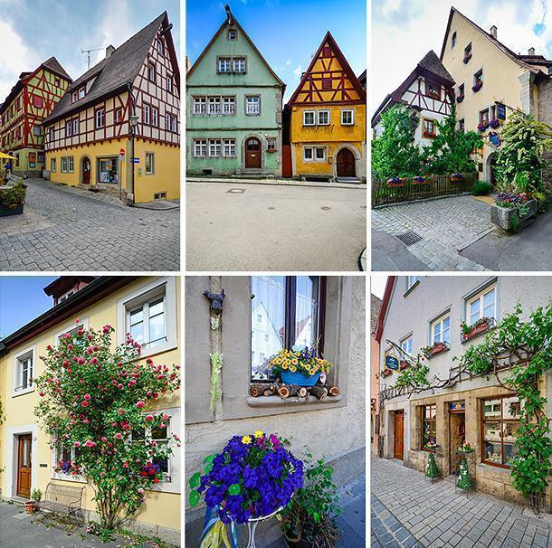 Rothenburg's colourful architecture makes it a delight to photograph