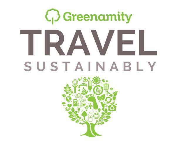 Travel sustainably with Greenamity