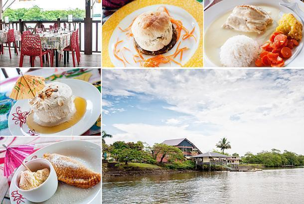 Restaurant Le Grand Pavois offers excellent creole food in a stunning setting