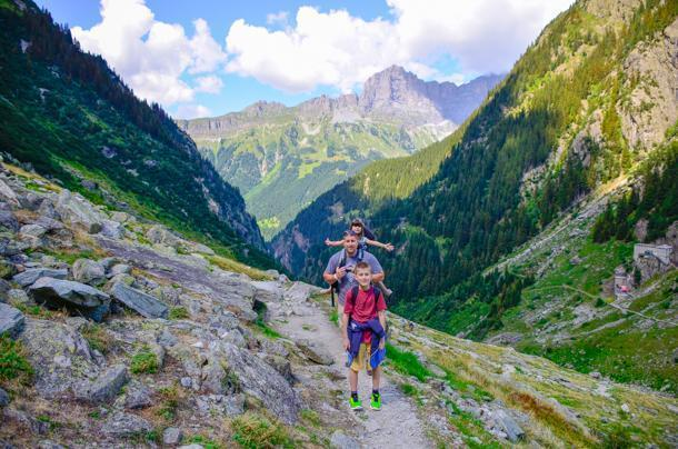 A perfect family adventure in the Swiss Alps