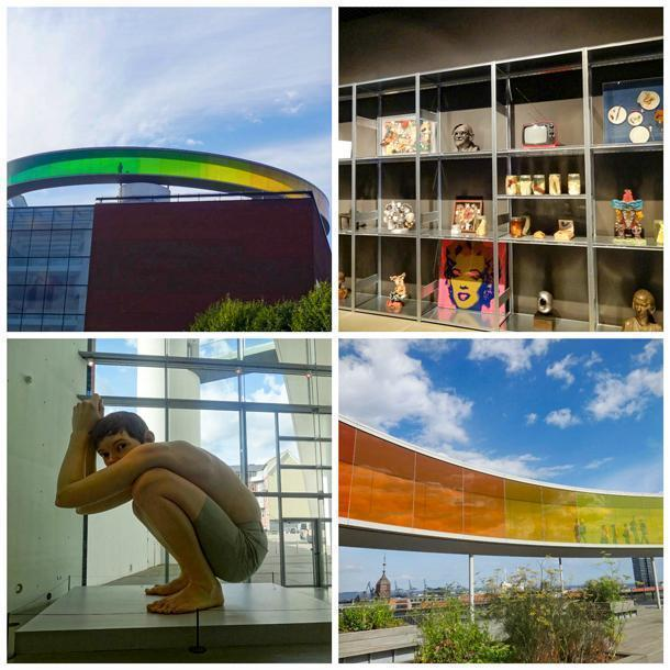 The ARoS Museum is crowned with the Rainbow Panorama