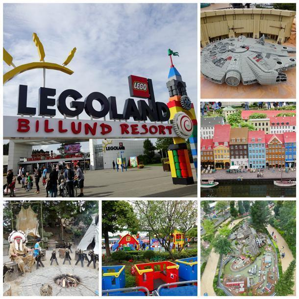 Don't miss the original Legolandin Billund, Denmark