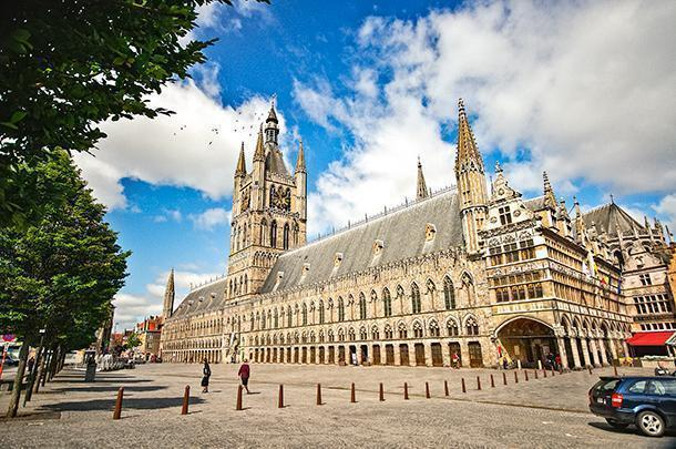 the In Flanders Fields Museum offers a personal look at the effects of WWI on this area of Belgium
