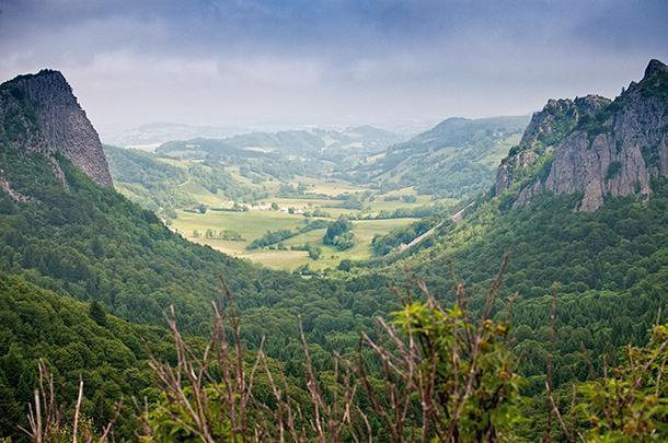 With views like this, no wonder Christophe chooses to call Auvergne, France home