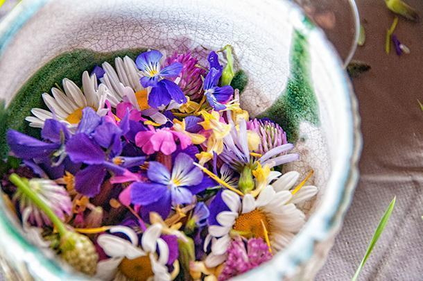 Who knew edible plants could be so beautiful?