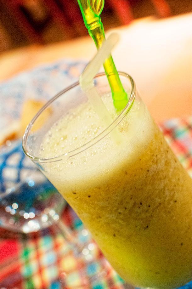 Fresh juice in French Guiana is a refreshing and tasty treat