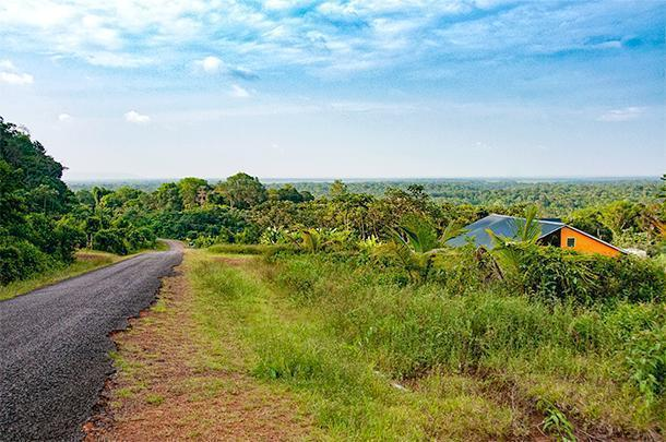 Roads in French Guiana range from modern highways to more 'rustic' routes