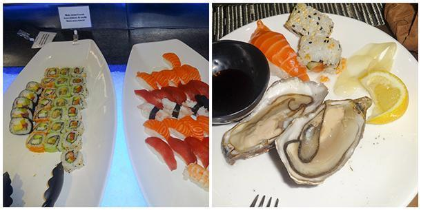 All you can eat fresh and tasty sushi