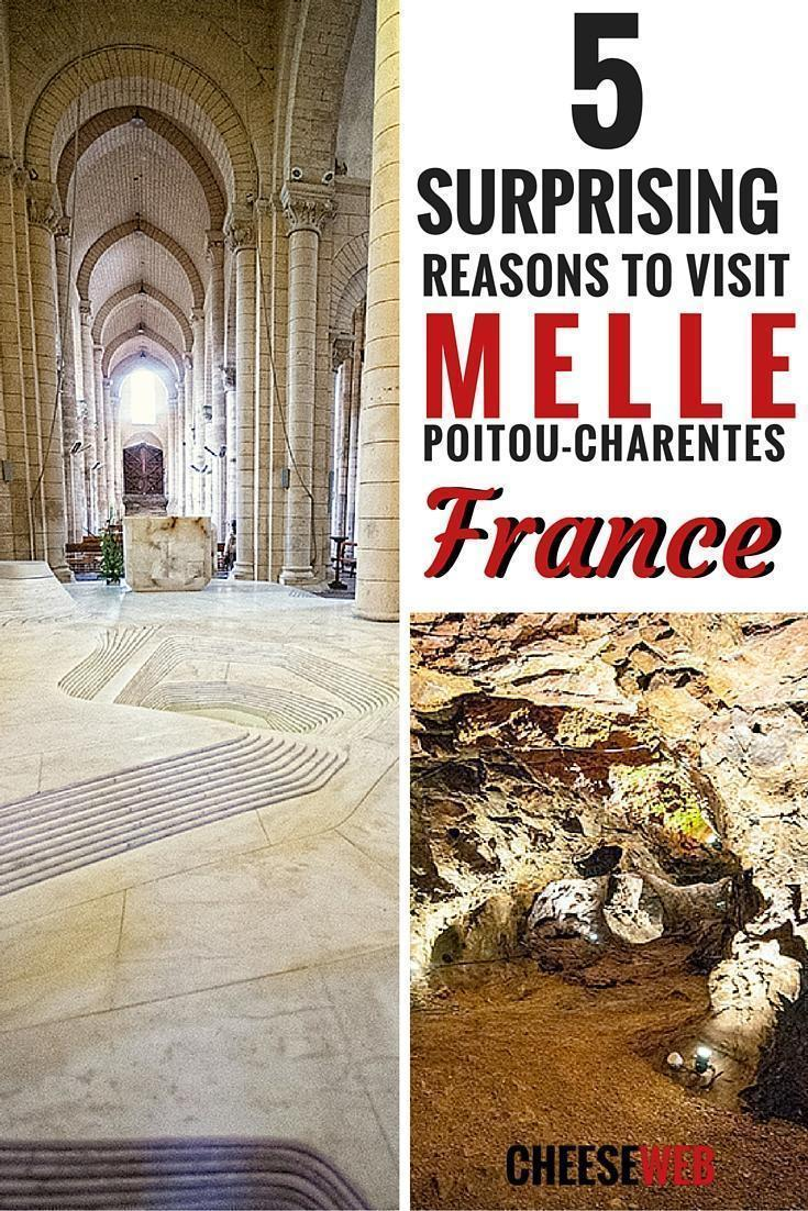 5 surprising reasons to visit Melle, Poitou-Charentes, france