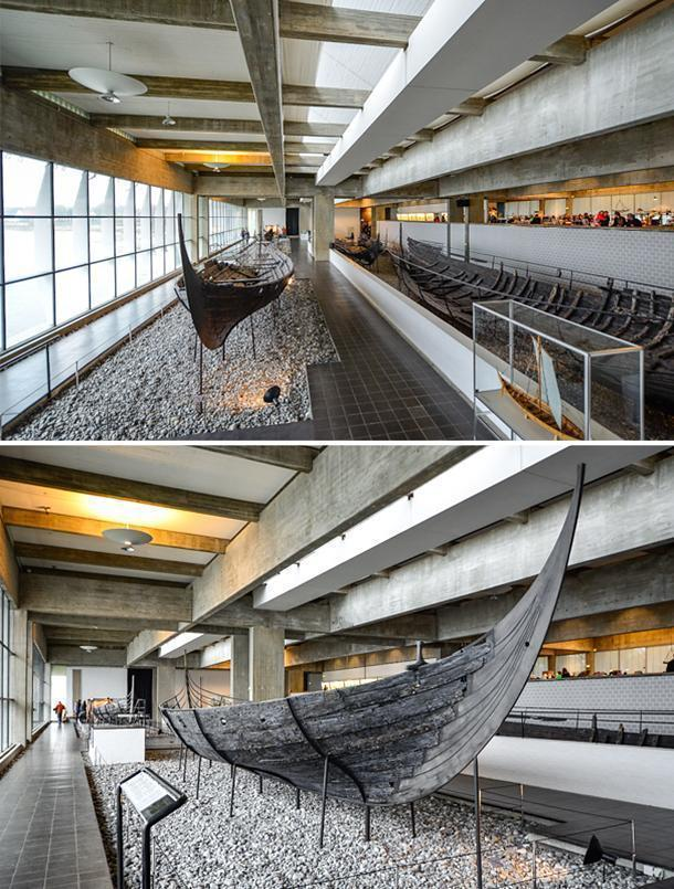 The Viking Ship Museum in Roskilde, Denmark