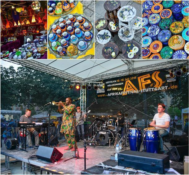 Colourful crafts and lively music at Stuttgart's Afrika Festival