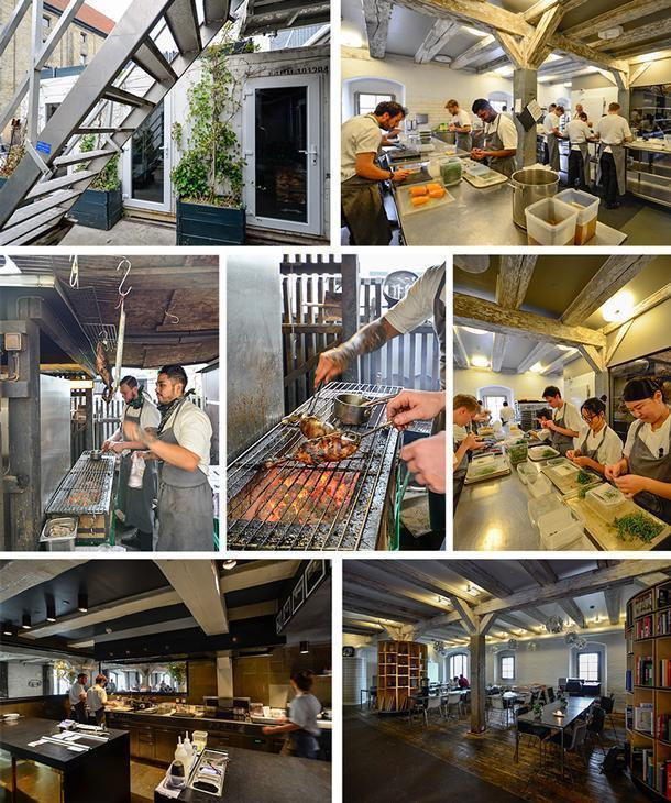 Behind the scenes at Noma: including the smokehouse, the interns from 22 nations, the kitchens, and the staff dining room.