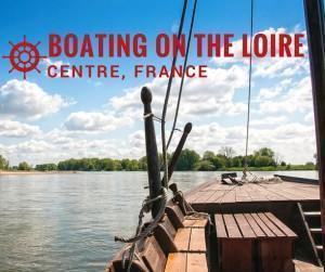 Boating on the Loire River, Centre, France