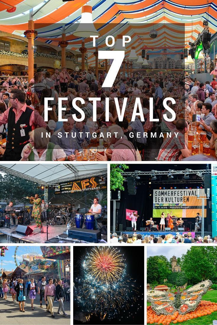 Our top 7 Festivals in Stuttgart, Germany