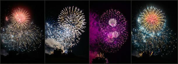 A feast for the eyes at the Flammende Sterne Fireworks Festival