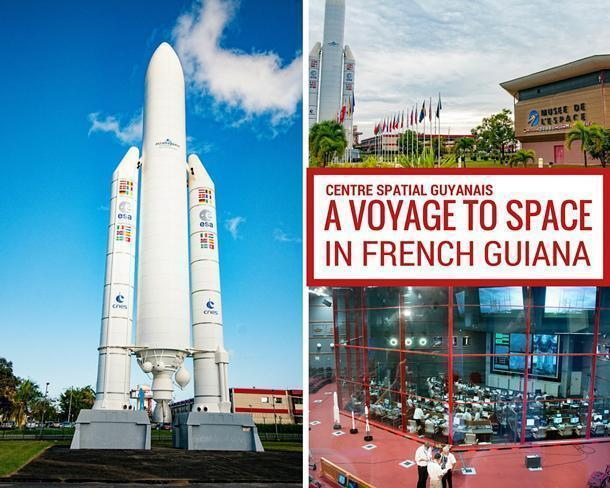 The Guiana Space Centre and Museum, French Guiana