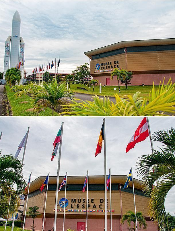 The Space Museum (Musée de L'Espace) is the welcome point to the Guiana Space Centre
