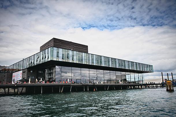 Copenhagen's modern Royal Danish Playhouse
